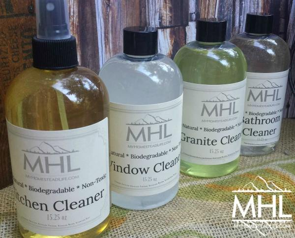 Handcrafted Cleaner Gift Pack by My Homestead Life