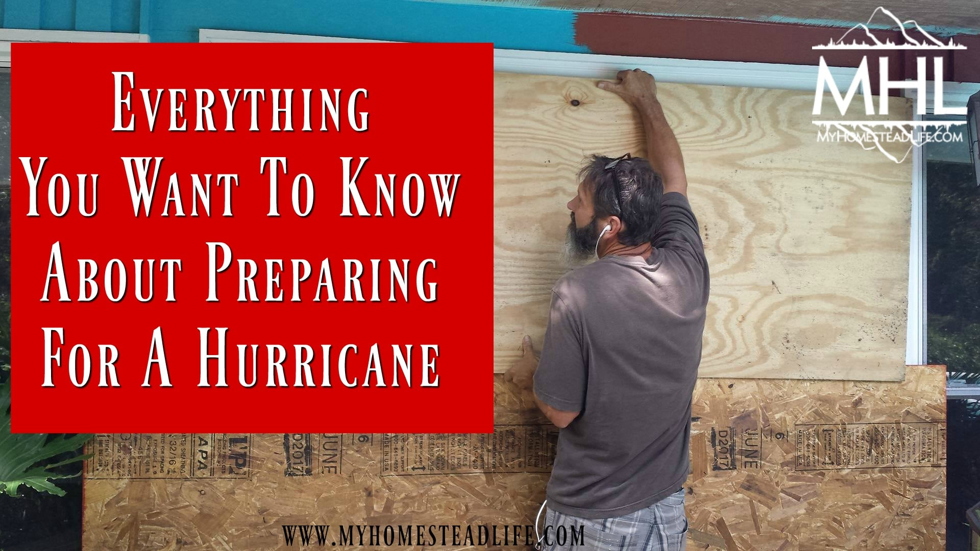 Everything You Want To Know About Preparing For A Hurricane