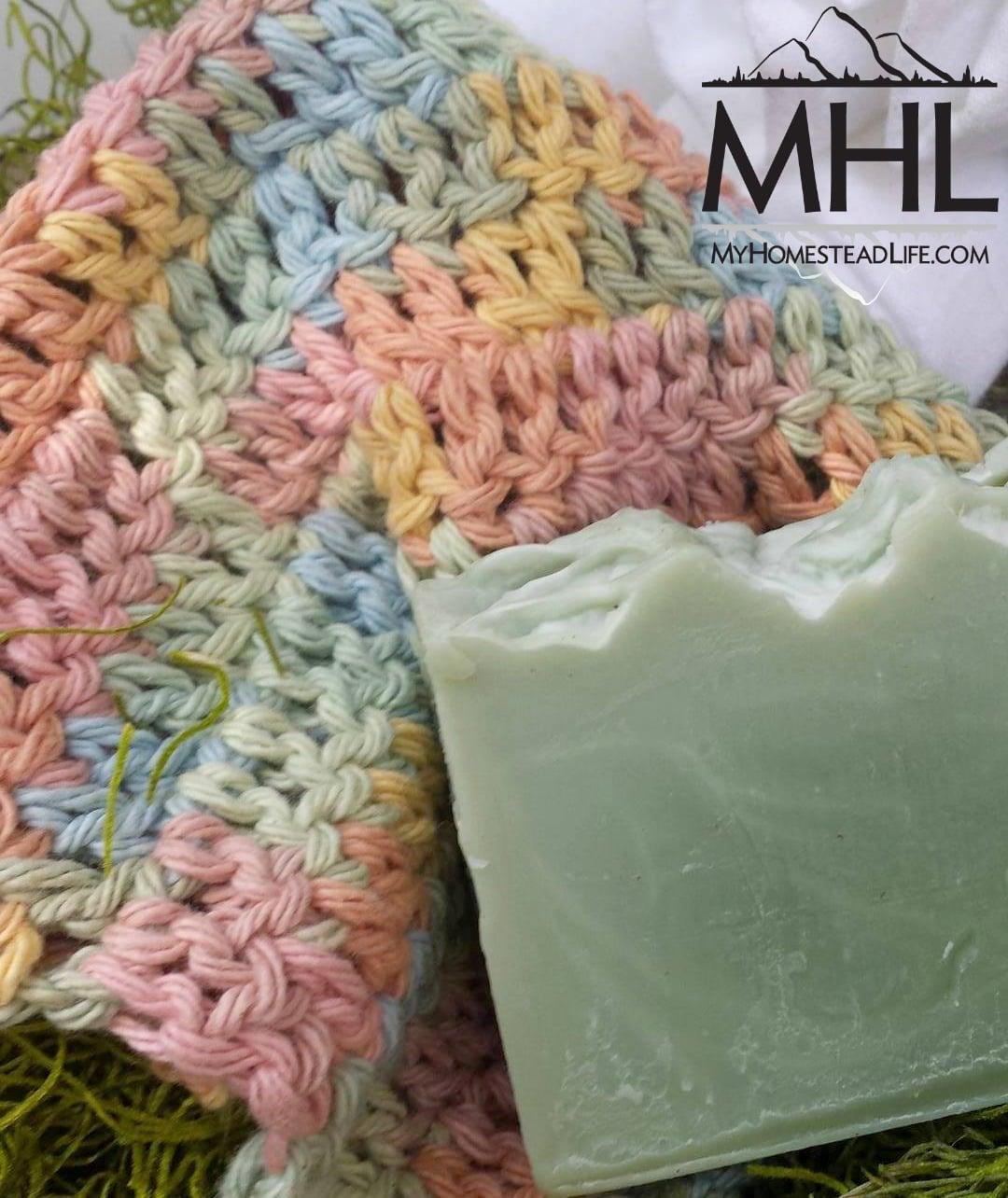 100% Cotton Handmade Spa Washcloth- Multi Color - My Homestead Life