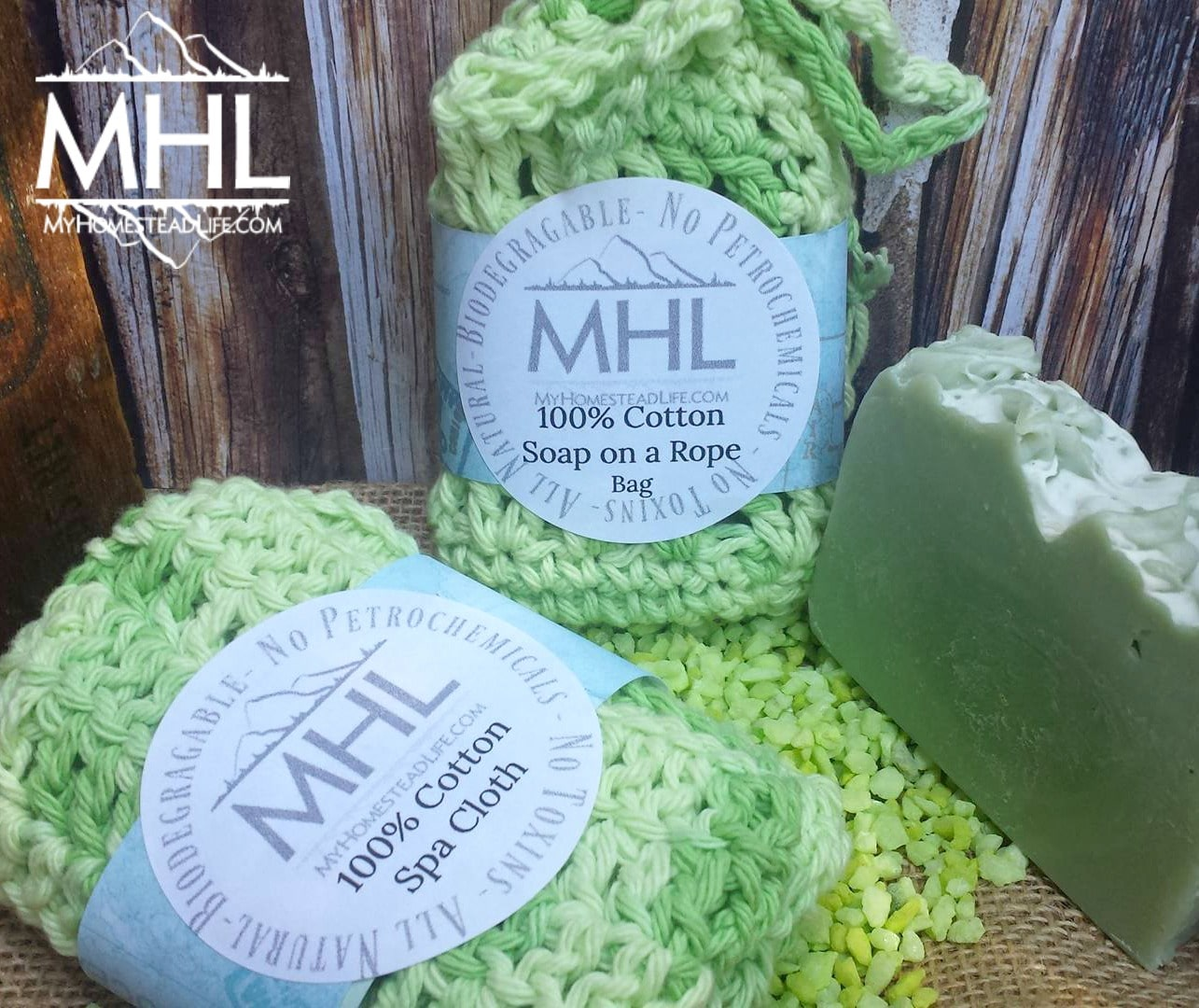 Spa Gift Set handcrafted by My Homestead Life