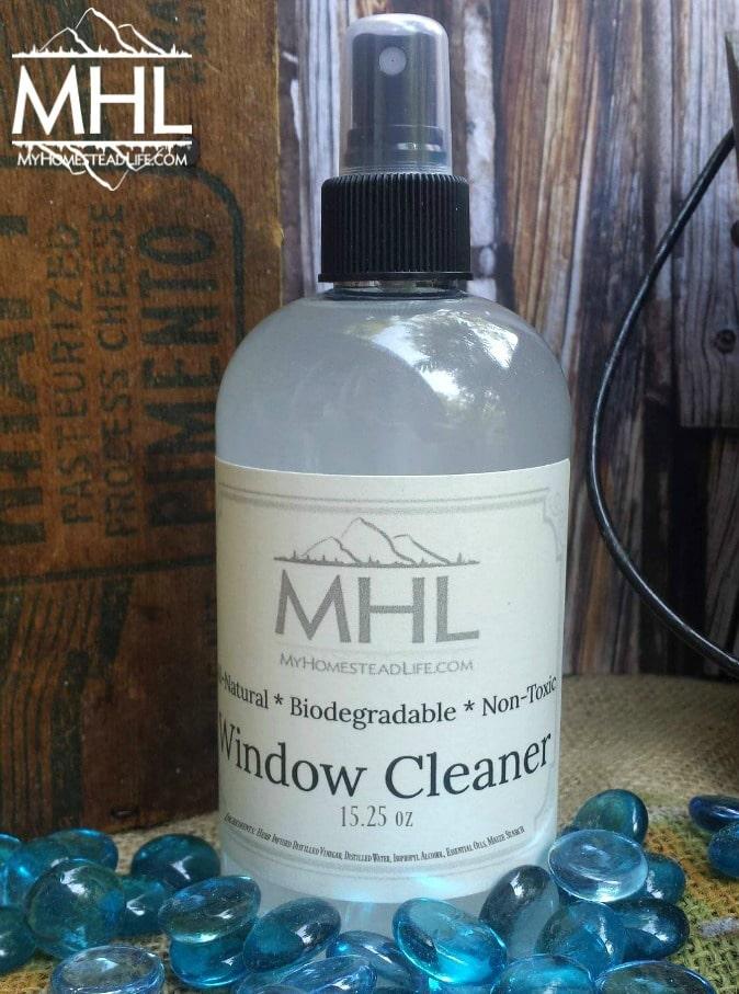 Cool Lavender Streak-Free Window Cleaner by My Homestead Life