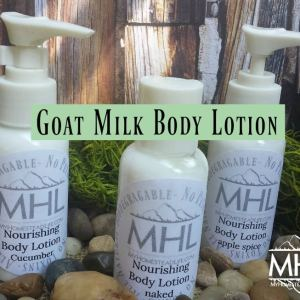 Goat Milk Body Lotion by My Homestead Life