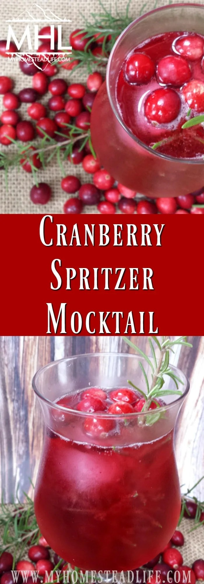 Cranberry Spritzer Mocktail Recipe, Perfect for All Of Your Guest