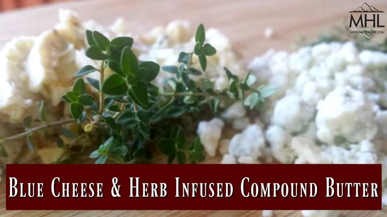 Blue Cheese and Herb Infused Compound Butter