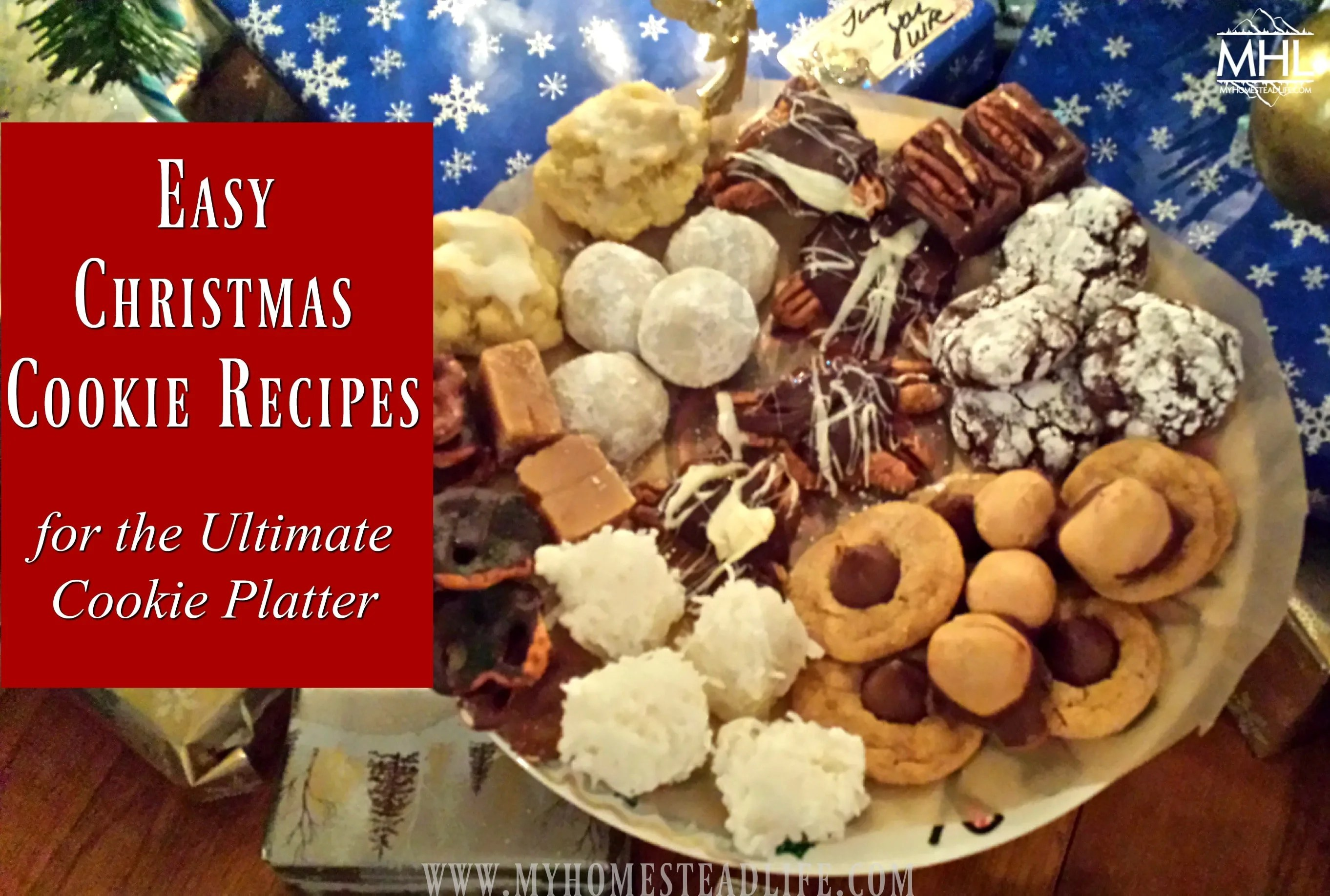 Easy Christmas Cookie Recipes For The Ultimate Cookie Platter My