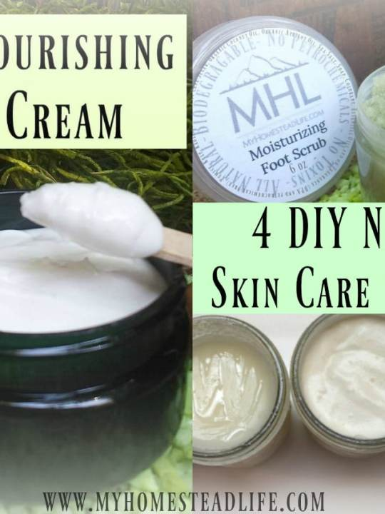 4 DIY Natural Skin Care Products