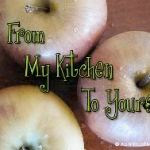 Glazed Cinnamon Apples & My Kitchen of the Future