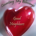 Today's Blessing: Good Neighbors