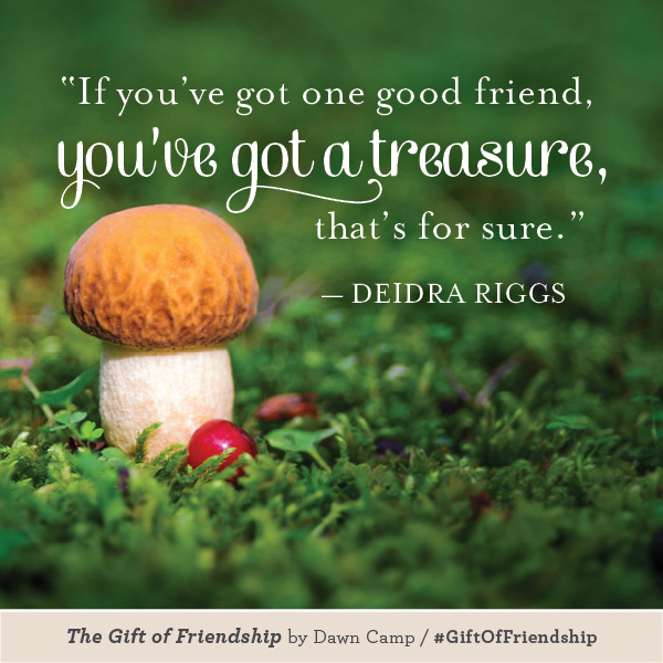 Deidra Riggs The Gift of Friendship #GiftofFriendship