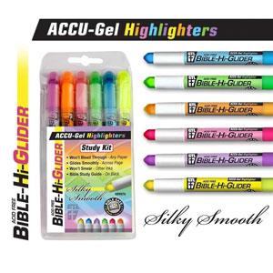 Accu-Gel Bible Highlighters