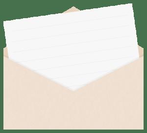 封筒のイラスト