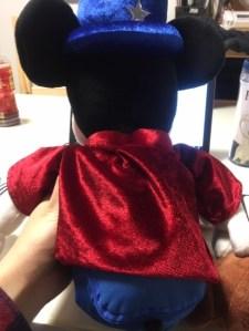 ミッキーマジシャンの背面