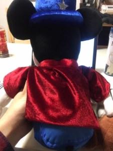 ワールドファミリーミッキーマジシャンの背面