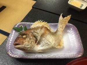 宿せがわ 鯛の塩焼き