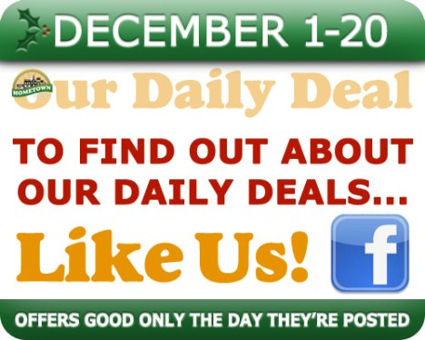 Hometown Bicycles Daily Deal - 20 Days of Crazy Christmas Deals