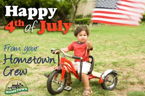 Happy Fourth of July from Hometown Bicycles