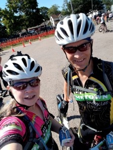Hometown Bicycles' Jean and Steve Steinberg at Ore to Shore