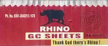 LOGO OF RHINO GC SHEETS