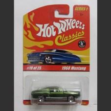 1968 MUSTANG (green) - HW Classics