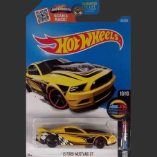 '13 FORD MUSTANG GT (yellow) - HW Mild To Wild