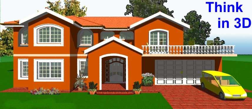 myHouse Progetto Casa in 3D a Colori