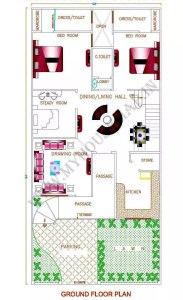 south facing house vastu plan