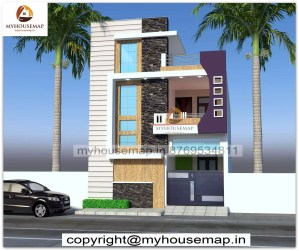 elevation duplex house designs