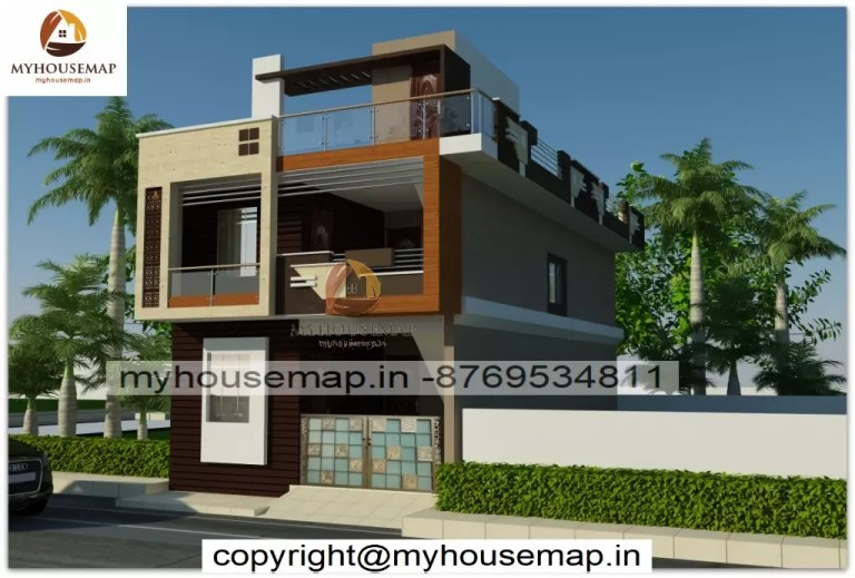 front elevation design 2 floors