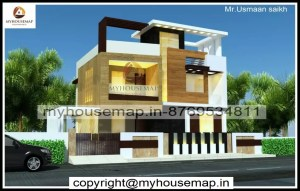 modern house new elevation