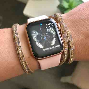 Original Apple Watch Strap with leather-wrap bracelet