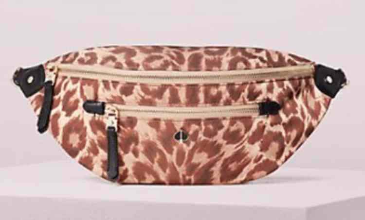Kate Spade Leopard Belt Bag
