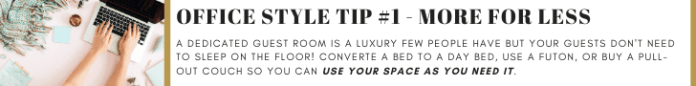 Office Style Tip #1