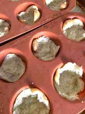 Mini Croissant Quiche