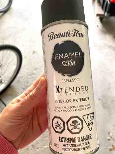 Beautiful-Tone Spray Paint Espresso