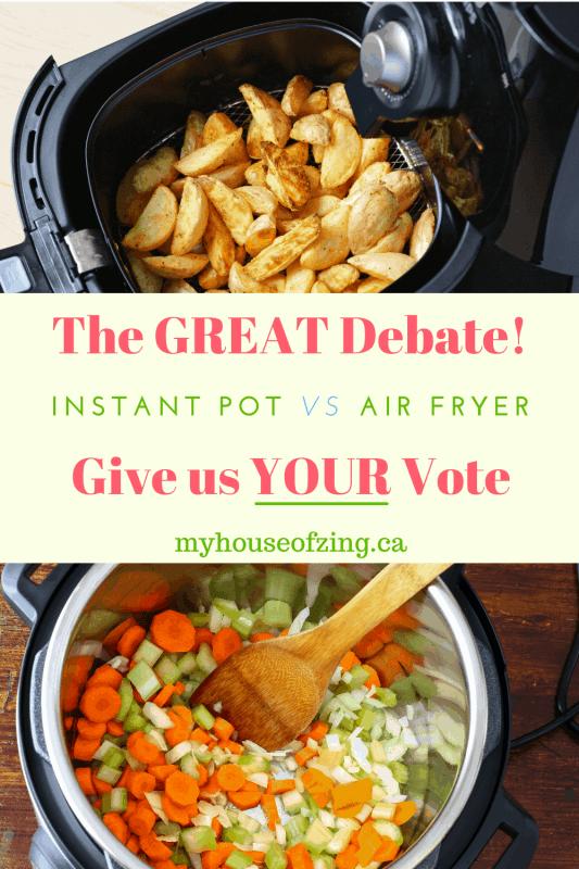 Instant Pot vs Air Fryer Pin