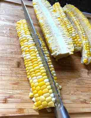Corn Ribs Quartered