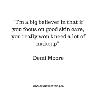 Beauty Tips Quote: Demi Moore