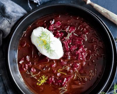 Simple Borscht Soup