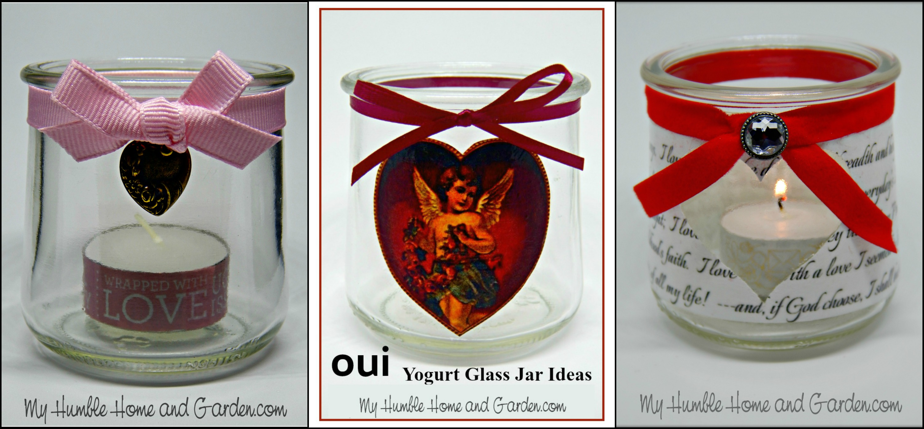 Yogurt Glass Jar Ideas You Ll Love For Valentine S Day My Humble Home And Garden