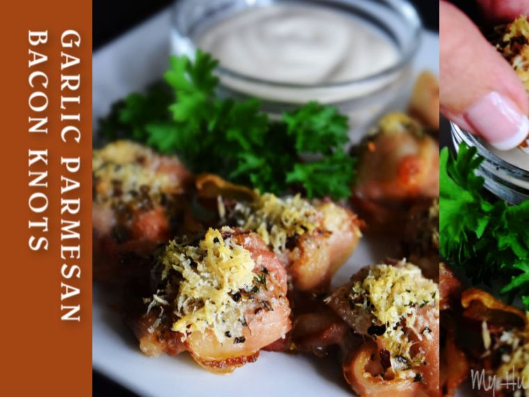 Garlic Parmesan Bacon Knots – Need A Quick Easy Appetizer?