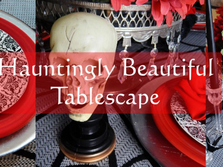 How To Create This Hauntingly Beautiful Halloween Tablescape