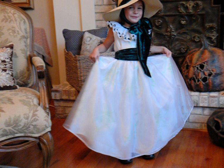 Scarlett O'Hara Halloween Costume Your Little Girl Will Love – Part 3