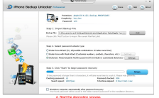 decrypte itunes backup