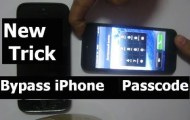 iphone bypass passcode