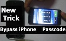 iphone bypass passcode