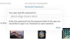 Apple announced icloud changes App-specific passwords iCloud users