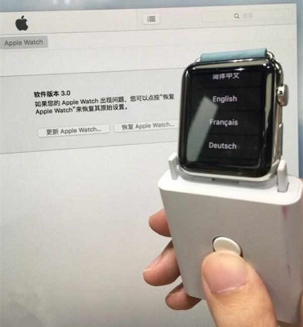 Repair Apple Watch Stuck Apple Logo