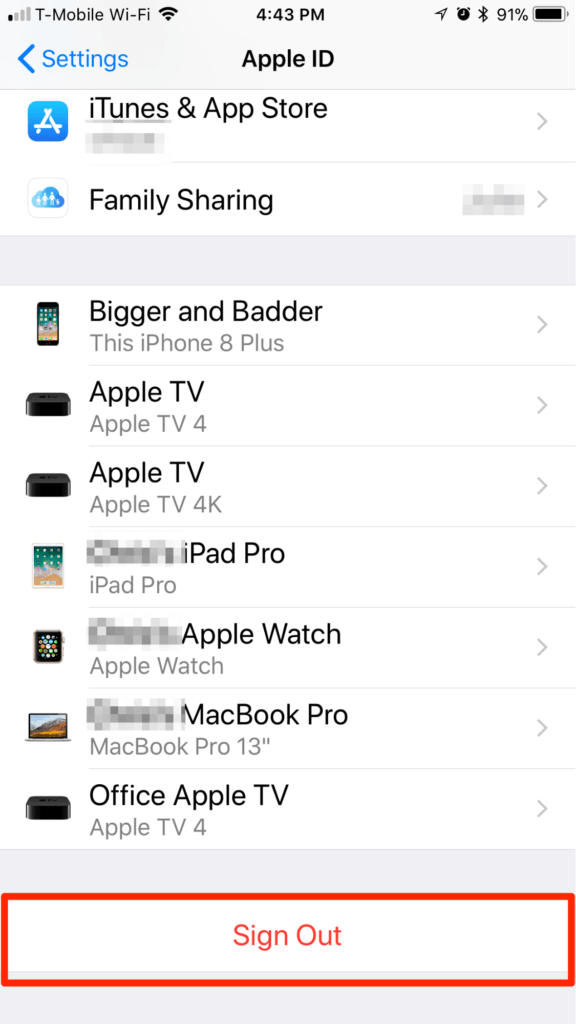How stop using icloud and remove it from iOS devices