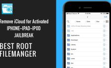 Remove iCloud Activation Lock using filza