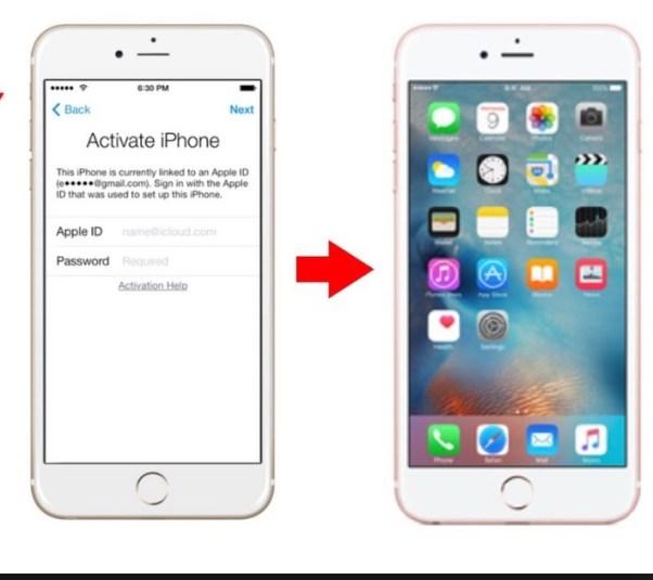 iOS 10.3.3 icloud activation lock Bug